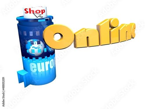 Online Shop Gebäude