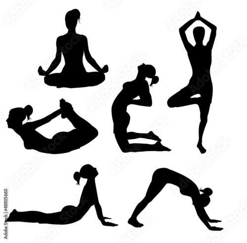 set of yoga practices