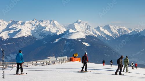Ski Run in the Dolomites - 48806674