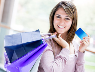 Shopping by credit card