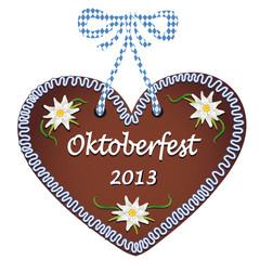 """Lebkuchenherz """"Oktoberfest 2013"""""""