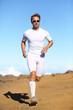 Athlete sports fitness runner running