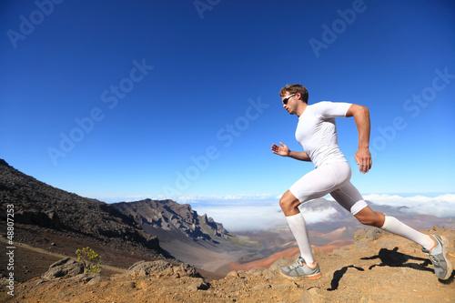 Running sport runner man