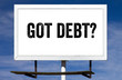 Got Debt Billboard