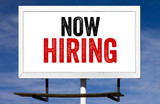Now Hiring Billboard