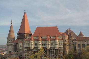 Corvins Castle, (XV century), Hunedoara, Romania