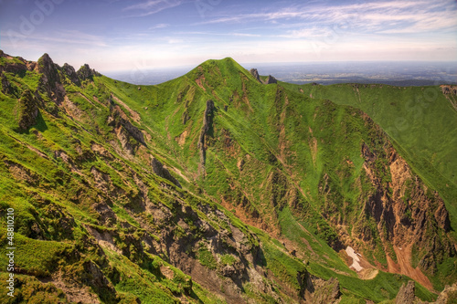 canvas print picture Landscape in Puy de Sancy Mountain