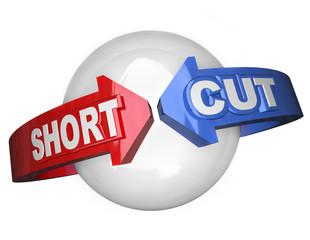 Short Cut Words Around Sphere Shortcut Easy Route