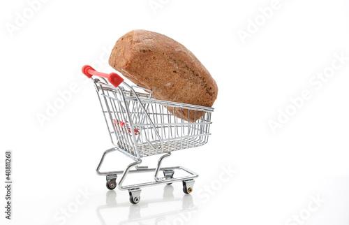 Brot einkaufen