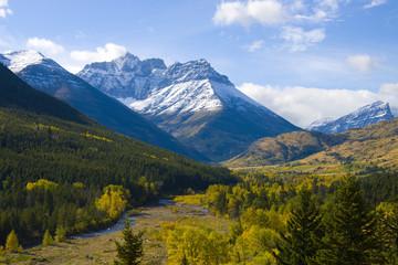 Autumn Scene in the Valley