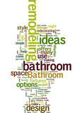 Bathroom remodeling ideas Concept