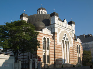 Synagogue in Sofia (Bulgaria)
