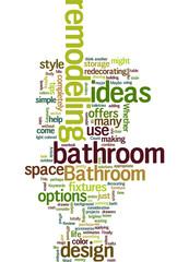 Bathroom remodeling ideas Concept