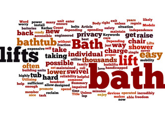 Bath Lifts and You Concept