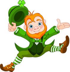 Happy Leprechaun