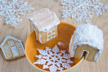 Gingerbread house for a cup of