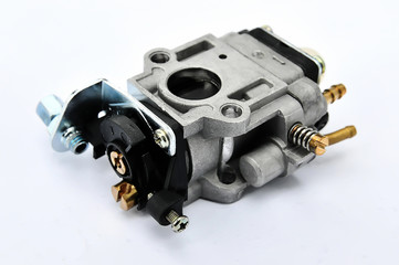 carburetor on an isolated background