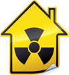 Sticker radiation des bâtiments