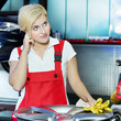 Female apprentice is wary about doing her training qualification