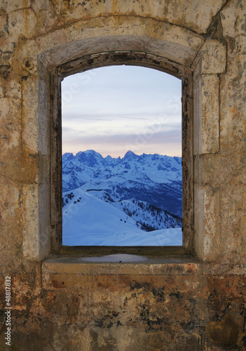 Window - fort Gondran , Montgenevre