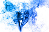 Abstract Blue Smoke