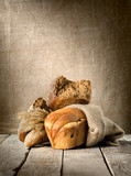 Bread in assortment