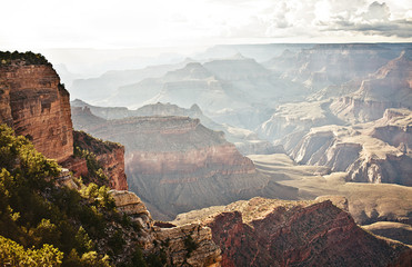 Grand Canyon landscape view