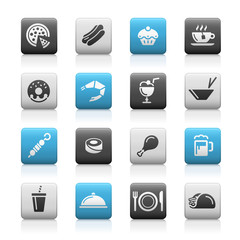 Food Icons - 2 // Matte Series