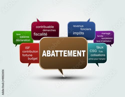 TEXTE BULLES ABATTEMENT