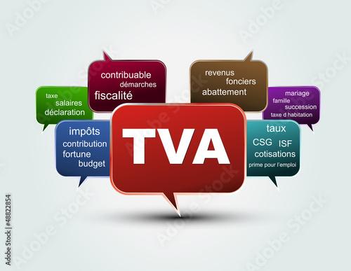 texte bulles TVA