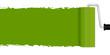 Neuanstrich mit Farbroller - grün
