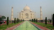 Taj Mahal - famous mausoleum in Agra India