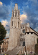 Church of Sant Feliu in Girona (Saint Felix). Spain
