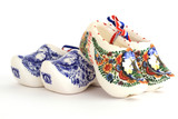 Dutch porcelain clogs