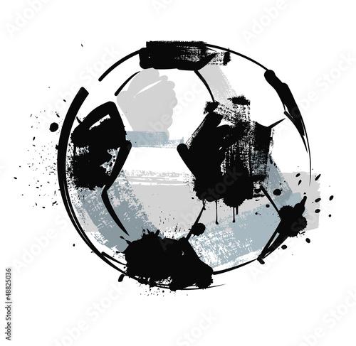 grunge soccer ball - 48825036