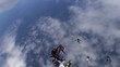Skydiving video.
