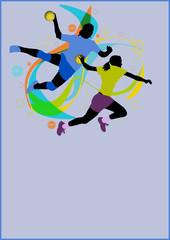 Handball background