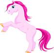 Pink magic horse