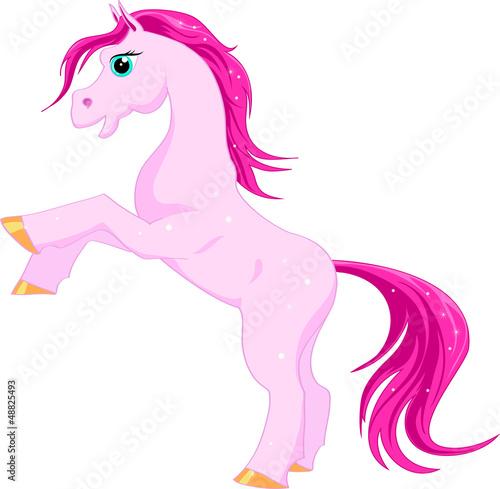 Poster Pony Pink magic horse
