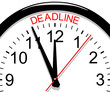 Clock. Deadline