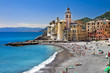 beautiful Ligurian coast of Italy Camogli