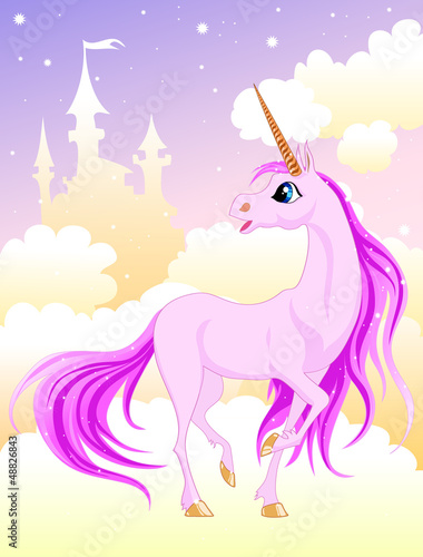 Poster Pony Pink unicorn