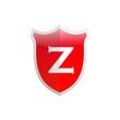 Secure shield letter Z.