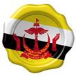 Wachssiegel Brunei
