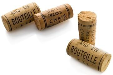 Natural cork.