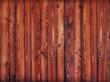 Wand aus Holzlatten