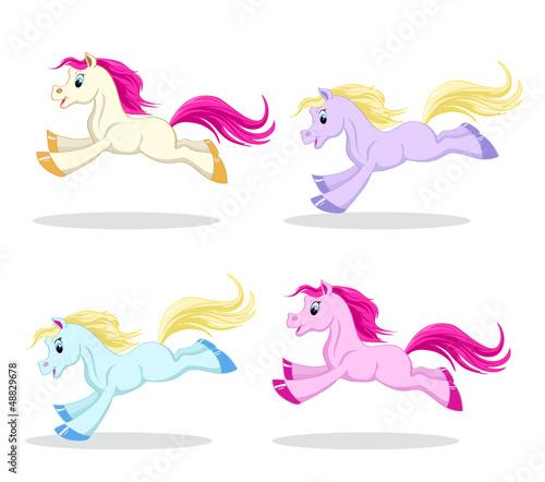 Poster Pony pony set in motion
