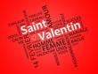 Постер, плакат: Saint Valentin oblique