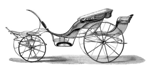 Carriage : Phaeton - 19th century
