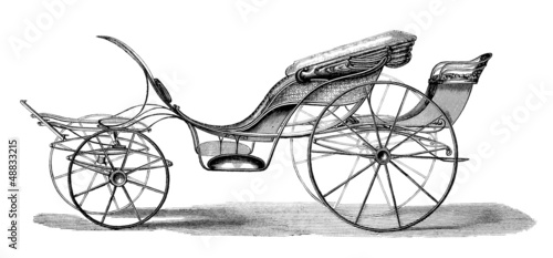 Carriage : Phaeton - 19th century